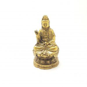 Buda Meditação Dourado